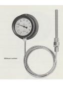 Hyoda (Japan) Drip Proof Bimetal Thermometer M Series